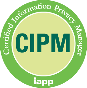 Certified Information Privacy Manager (CIPM)