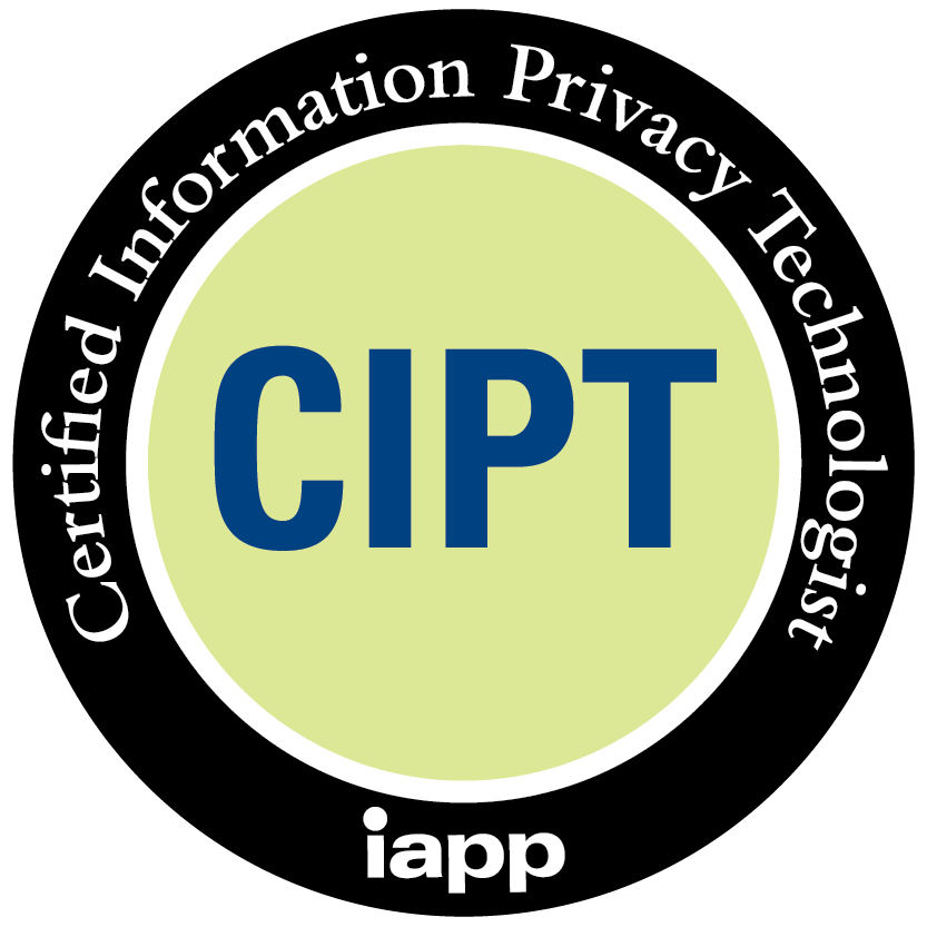 Certified Information Privacy Technologist (CIPT)
